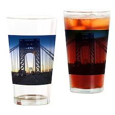 George Washington Bridge Drinking Glass