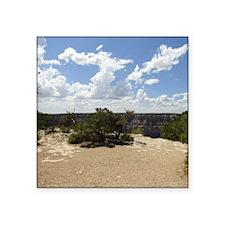 "Grand Canyon South Rim Square Sticker 3"" x 3"""