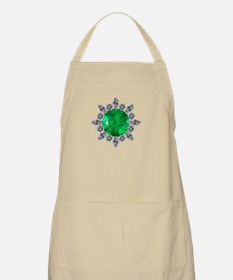 brooch-3-emerald-8-15-2013 Apron