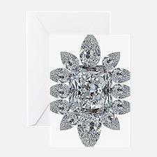 Ascher Diamond Brooch Greeting Card