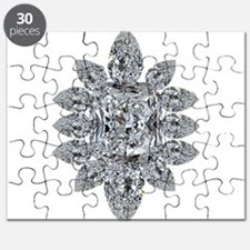Ascher Diamond Brooch Puzzle