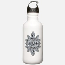 Ascher Diamond Brooch Water Bottle