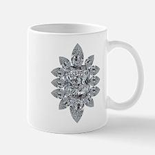 Ascher Diamond Brooch Mug