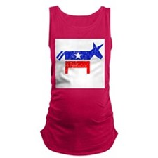 democratlogo.png Maternity Tank Top
