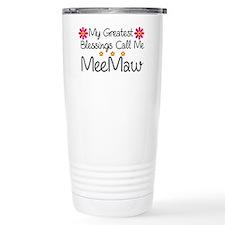 Blessings MeeMaw Travel Mug