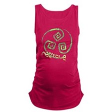 recycletribaltrans.png Maternity Tank Top