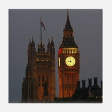 Stunning! BIG Ben London Pro Photo Tile Coaster