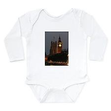 Stunning! BIG Ben Lond Long Sleeve Infant Bodysuit