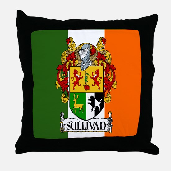 Sullivan Arms Flag Throw Pillow