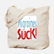Migraines Suck! Tote Bag