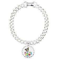 Biewer Yorkie Cup Charm Bracelet, One Charm
