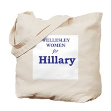 Wellesley Women for Hillary Tote Bag
