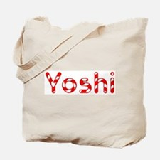 Yoshi - Candy Cane Tote Bag