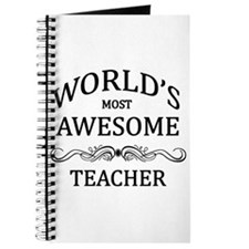 World's Most Awesome Teacher Journal