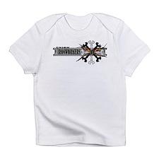 Cute Union ironworker Infant T-Shirt