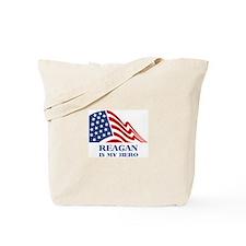 Reagan is my hero Tote Bag