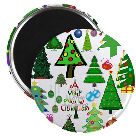 """Oh Christmas Tree 2.25"""" Magnet (10 pack)"""