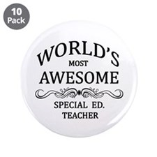 """World's Most Awesome Special Ed. Teacher 3.5"""" Butt"""