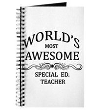 World's Most Awesome Special Ed. Teacher Journal