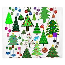 Oh Christmas Tree King Duvet