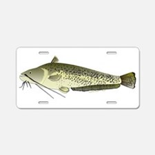 Wels catfish Aluminum License Plate