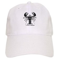 I Love Lobster Baseball Cap