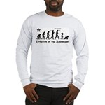 Schnauzer Evolution! Long Sleeve T-Shirt