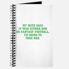 Fantasy Football Casualty Journal