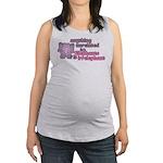 Irrelephant Elephant Maternity Tank Top