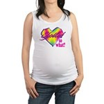 Spoiled - so what? Maternity Tank Top