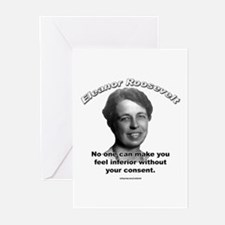 Eleanor Roosevelt 01 Greeting Cards (Pk of 10)