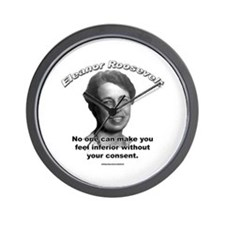 Eleanor Roosevelt 01 Wall Clock