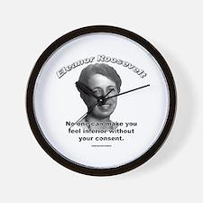 Eleanor Roosevelt 01 Wall Clock