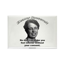 Eleanor Roosevelt 01 Rectangle Magnet (100 pack)