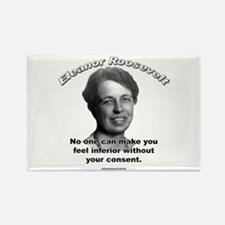 Eleanor Roosevelt 01 Rectangle Magnet (100 pack)