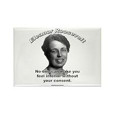 Eleanor Roosevelt 01 Rectangle Magnet (10 pack)