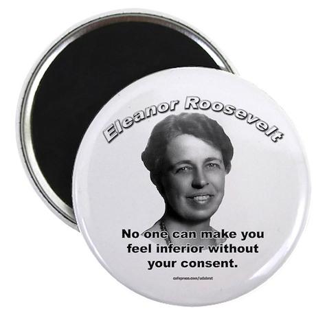 """Eleanor Roosevelt 01 2.25"""" Magnet (10 pack)"""