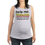 Stolen Sanity Maternity Tank Top