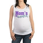 Mom's Lil' Sidekick Maternity Tank Top