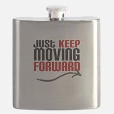 Just Keep Moving Forward Flask