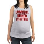 luminol3.png Maternity Tank Top