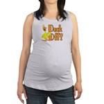 Duck Off Maternity Tank Top