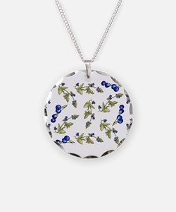 vines of blueberries Necklace