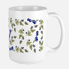 vines of blueberries Mug