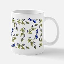 vines of blueberries Mug
