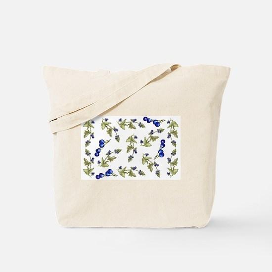 vines of blueberries Tote Bag