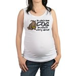 dogworry2.png Maternity Tank Top