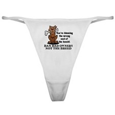 Ban Bad Owners Classic Thong