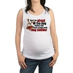 SLOBBER2.png Maternity Tank Top