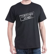 Certified Homo T-Shirt